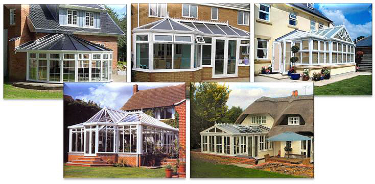 other types of upvc conservatory